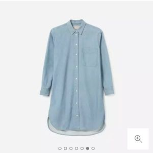 Everlane Denim Shirtdress